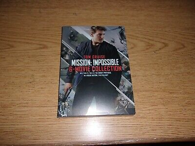 Mission Impossible 6 Movie Dvd 1 2 3 Ghost Rogue Fallout