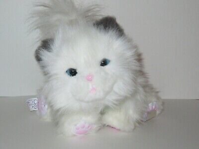 Little Live Pets CUDDLES My Dream Kitten White Cat Electronic Interactive Moose