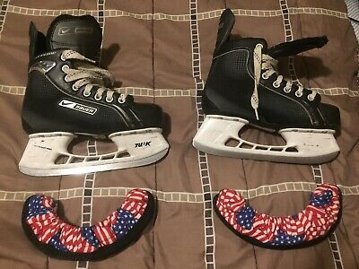 NIKE BAUER SUPREME One05 Ice Hockey Skates Perfect Mens Size 9 R
