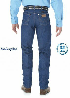 "Wrangler Men's Cowboy Cut Original Fit 32"" Jeans"