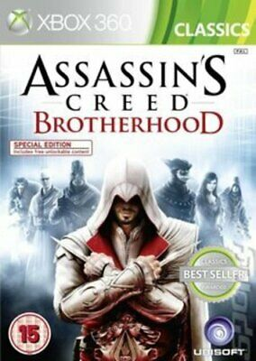 Assassin's Creed: Brotherhood (Xbox 360) Strategy: Stealth Fast and FREE P & P