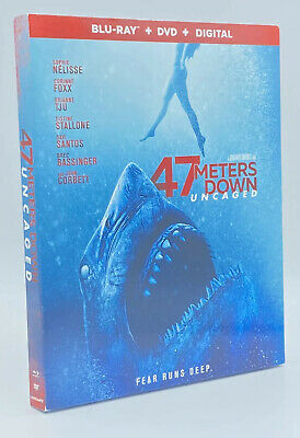 47 Meters Down: Uncaged [2019] Blu-ray+DVD+Digital includes Slipcover