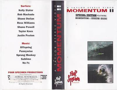 Surfing Momentum 11 Video Vhs Pal A Rare Find