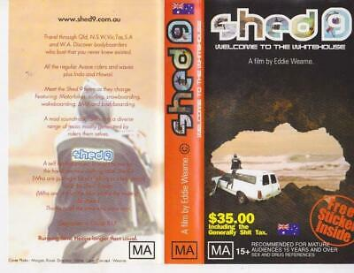 Surfing Shed 9 Welcome To The Whitehouse Vhs Video Pal~ A Rare Find