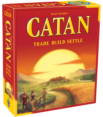 Catan Strategy Board Game 5th Edition