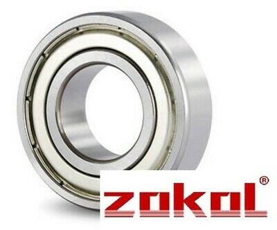6306Z BEARING BY ZOKOL 6306ZZ 6306-2Z SIZE 30mm x 72mm x 19mm 1st Class Same Day