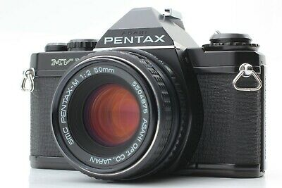 [Exc+5] Asahi Pentax MV1 SLR 35mm Film Camera w/SMC 50mm f2 Lens from Japan 275