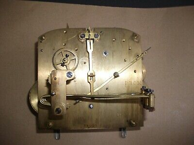 Vintage Westminster Chime Clock Movement & Other Parts