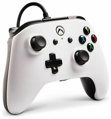 PowerA Enhanced Wired Controller for Microsoft Xbox One - White (No Box)