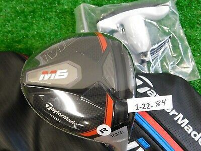 TaylorMade 2019 M6 10.5* Driver Atmos 6R Regular Graphite with M4 HC & Tool New