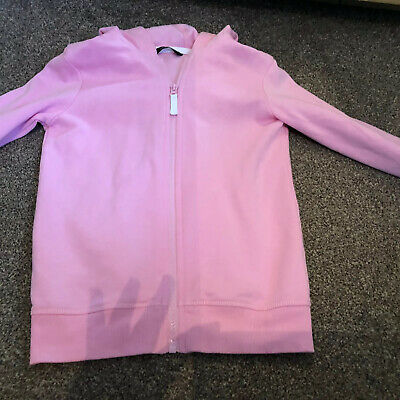 Girls Pink Hoody Next, George Age 9 And 9-10