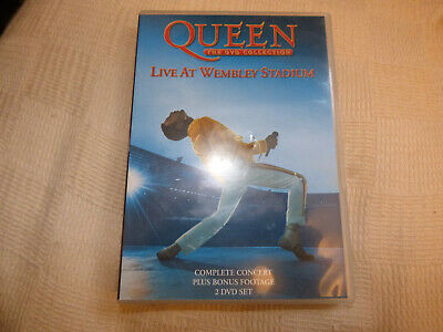 Queen - The DVD Collection: Live At Wembley Stadium (DVD, 2003, 2-Disc Set, Box