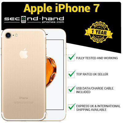 Apple iPhone 7 256Gb Gold - Factory Unlocked - Good - 1 Year Warranty