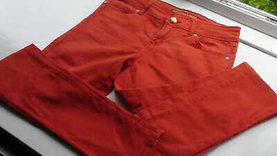 Denim&Co SWEET Tangerine SKINNY Stretch CUTIE Jeans Girls or Boys Size 10