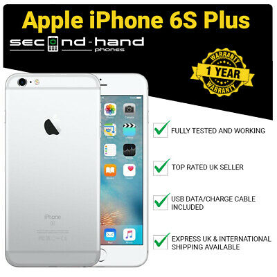 Apple iPhone 6s Plus 32GB Silver (Unlocked/SIM FREE) Grade B - 1 Year Warranty