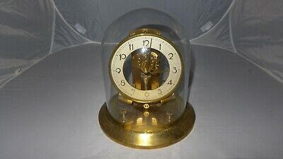 Vintage Junghans ATO electronic brass glass dome clock SPARES