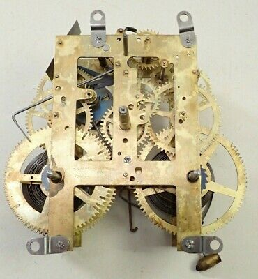 Antique Sessions Mantel Shelf Clock Movement Parts Repair