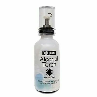 Alcohol Torch with a Needle-Point Medical, Dental Lab Easy Squeeze Buffalo