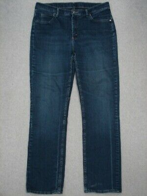 QA15427 **LEE RIDERS** STRAIGHT LEG WOMENS JEANS sz16L DARK