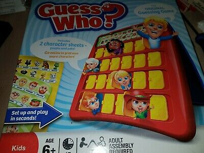 Guess Who? Board Game People Pets Edition Hasbro Classic Original Guessing