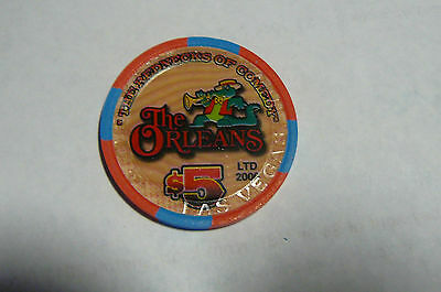 $5 The Orleans Hotel & Casino Poker Chip