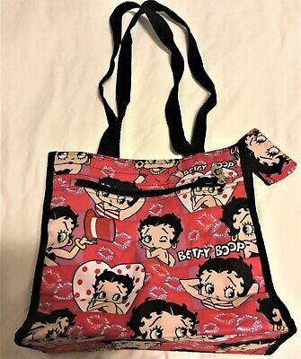 Betty Boop Red Heart Tote Bag  Excellent Condition @ STMC