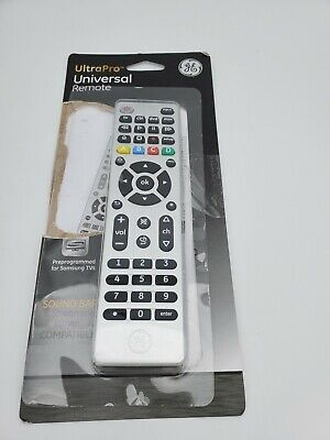 Universal Remote Control LN 33709 Brushed Nickel GE 4-Device ™