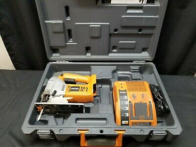 Ridgid R843 18V Cordless Jigsaw w/ Battery Charger In Case, no Battery