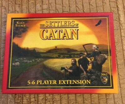 The Settlers of Catan Board Game 5-6 Player Extension 3062 4th Ed