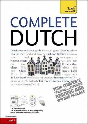 Teach Yourself Complete Dutch : From Beginner to Level 4, Paperback by Quist,...