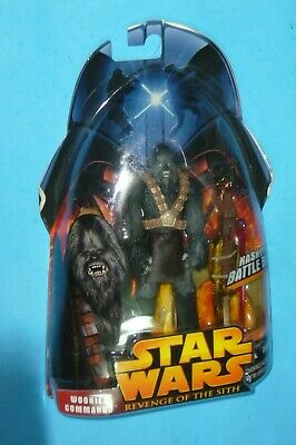 """Star Wars: Wookiee Commando #58 Revenge Of The Sith 3.75"""" Action Figure 2005"""