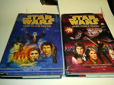 Lot of 2 Timothy Zahn Star Wars HCs - Heir To The Empire of Thrawn Trilogy