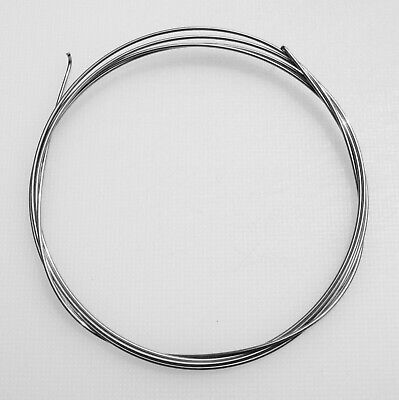 """Superior Grade ROSLAU Piano Wire-3 Metre Length (118"""" inches-9ft 10"""")Metalwork"""