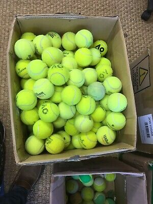 30 Used Tennis Balls - Very Good Condition. Clean. All Are Branded Balls 👍🏻