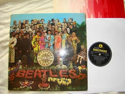 The Beatles Sgt Peppers Lonely Hearts Club Band  Pmc 7027 - A1/B1  Vg+/Vg