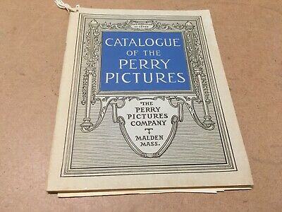 Vintage 1947 Catalogue Of The Perry Pictures Catalog