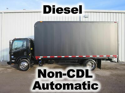 Nqr 5500 Diesel Automatic 18-Ft Box Cube Delivery Work  Haul Truck Non-Cdl