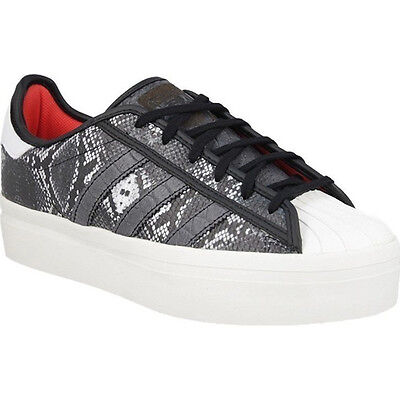 ADIDAS SUPERSTAR RIZE womens trainer shoe s75069 new black