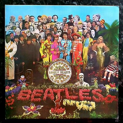 The Beatles - Sgt. Pepper's - Ex Condition 6th Pressing Gatefold LP With Cut Out