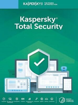 KASPERSKY TOTAL SECURITY 2020 1 PC DEVICE 1 YEAR - GLOBAL KEY Sale 5.99$