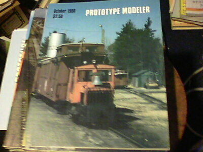 Prototype Modeler Oct 1980, An Edaville Gas Locomotive, Atlantic Coast Line Stee