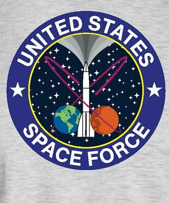 United States Space Force Logo Men's T-Shirt
