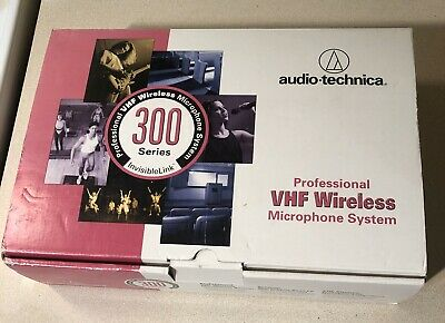 Audio-technica Pro VHF Wireless Microphone System 300 Series