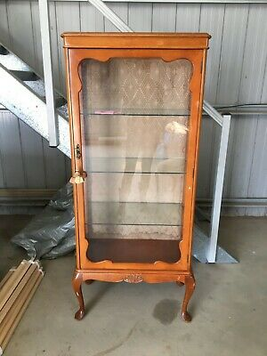 Antique Wooden China Cabinet