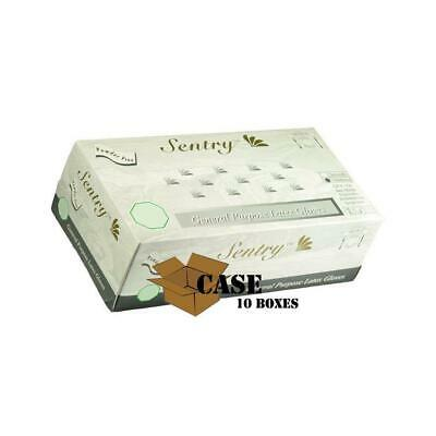 Sentry General Purpose Latex Gloves (XL) Model:1295 - 10 Boxes of 100 Gloves