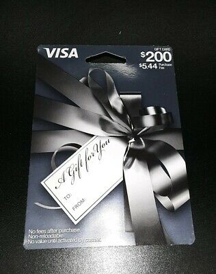 $200 Gift Card. Ready to Use! No Additional Fees! FREE SHIPPING!!