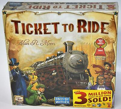 Days of Wonder Ticket to Ride Train Adventure Board Card Family Game New Sealed