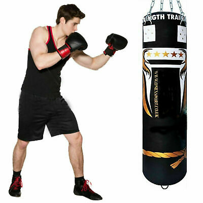 5ft Filled Training Punching Gloves for Training Fitness MMA Kickboxing, Muay Th