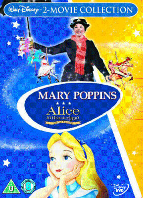 Mary Poppins/Alice in Wonderland DVD (2007) Julie Andrews, Stevenson (DIR) cert