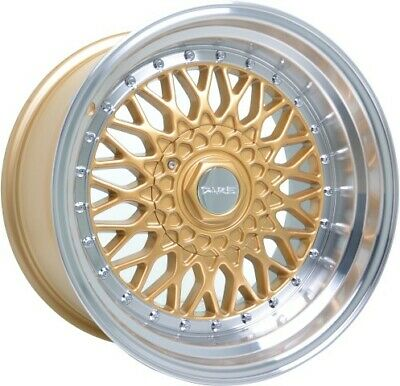 "Alloy Wheels 17"" Dare DR-RS Gold For MG GS 16-19"
